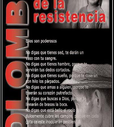 El rostro de la resistencia