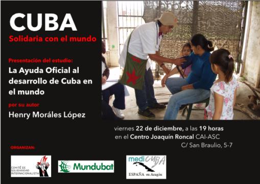 Cuba solidaria con el mundo