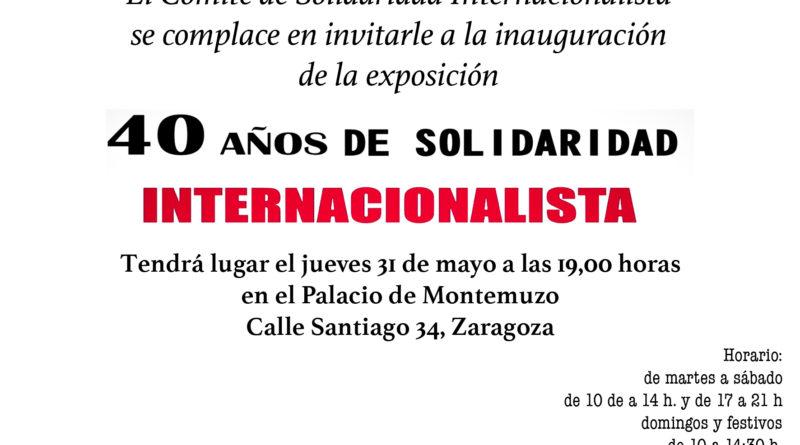 40 años de Solidaridad Internacionalista