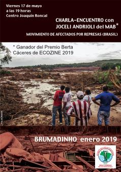 Charla con Joseli Andrioli del MAB (Movimiento de Afectados por Represas) Brasil