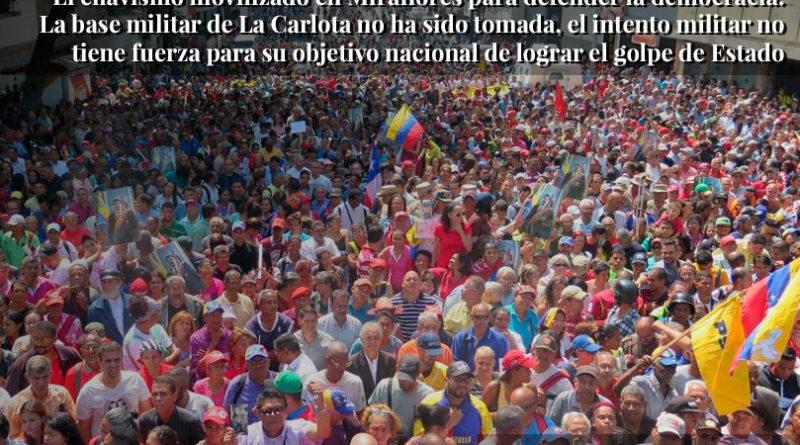 Fracasa intento de Golpe de Estado en Venezuela