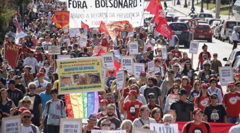 Huelga General en Brasil en defensa de las pensiones, la educación y la soberanía