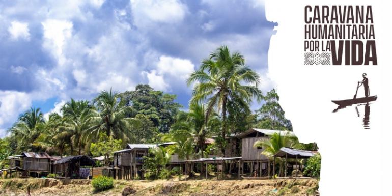 Caravana humanitaria pretende visibilizar la crisis en el Bajo Atrato chocoano