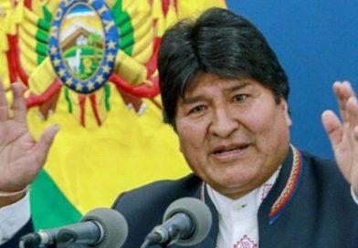 Bolivia. Evo Morales: Quieren acallar la prensa para perpetrar el golpe