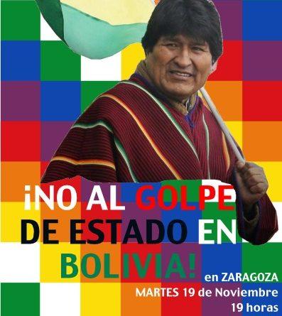 !No al golpe de Estado en Bolivia!