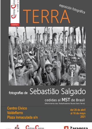 Exposición fotográfica «TERRA» de Sebastião Salgado.