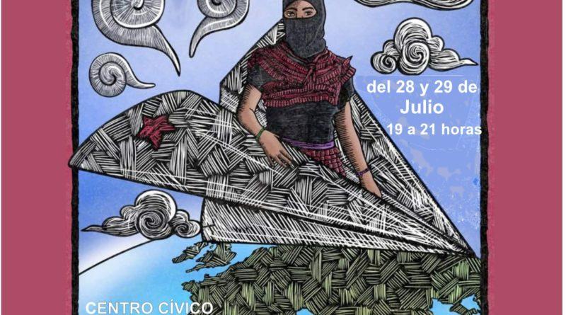 Charla en Villamayor de Gállego: Gira por la Vida. Zapatistas con la otra Europa.