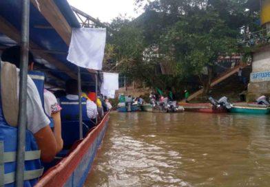 Inicia hoy Caravana Humanitaria por río San Juan, Chocó