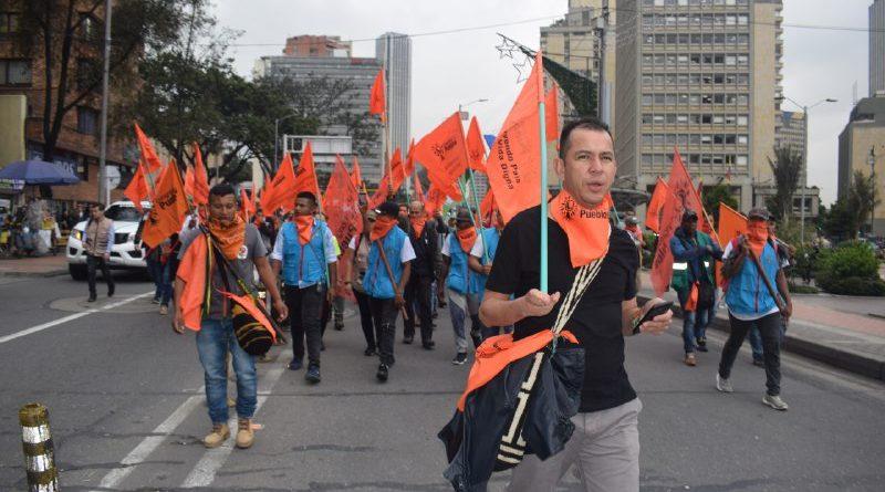Detienen a Jimmy Moreno, vocero nacional del Congreso de los Pueblos